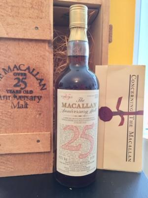 Whisky Macallan 1958 25 years