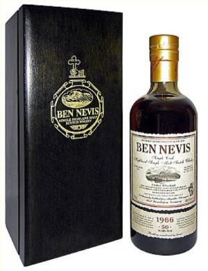Ben Nevis 50 Jahre 1966/2017 Alambic Classique - Sherry Single Cask #3641