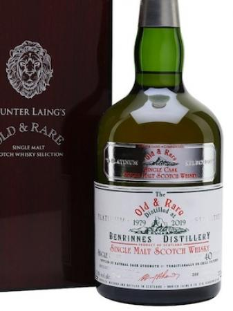 Whisky Benrinnes 40y Hunter Laing 42,1%