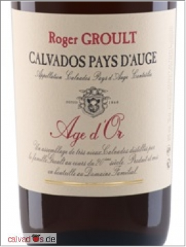 Calvados Roger Groult 30 years Age d'Or