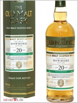 Whisky Bowmore 1996/2016 20 years 50%